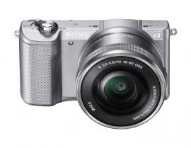 Aparat SONY Alpha a5000 (ILCE-5000) Srebrny + Obiektyw 16-50mm