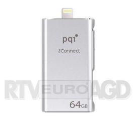 PQI iConnect 64GB USB 3.0 (srebrny)
